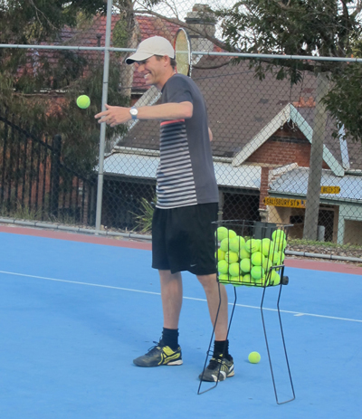 Stephen Day Eastern Suburbs based Tennis Coach