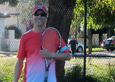 Stephen Day Eastern Sburbs based Tennis Coach